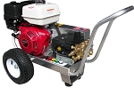 Cold Water Pressure Washer Gas Engine V-Belt Drive, 4.0 GPM, 4000psi GX390 Honda Engine with HP pump