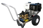 Cold Water Pressure Washer Gas Engine Direct Drive,  4.0 GPM, 4000psi GX390 Honda Engine with AR pump