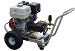 Cold Water Pressure Washer Gas Engine Direct Drive,  4.0 GPM, 4000psi GX390 Honda Engine with GP pump