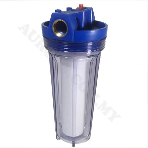 "10"" Water Filter Clear Housing"